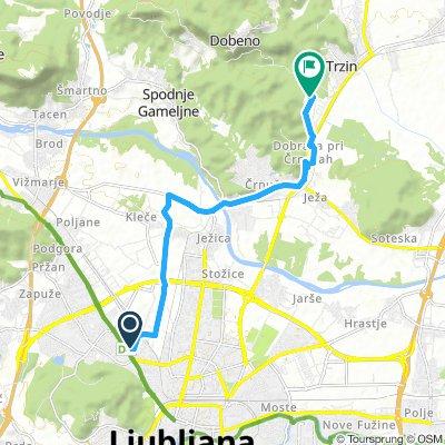 Spred Out Saturday Track In Ljubljana