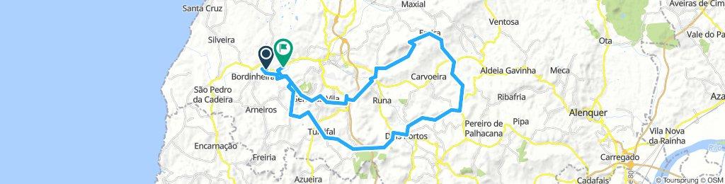 Ponte do Rol Mountain Bike track east 55 km