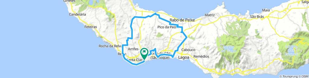 tour rond Ponta Delgada