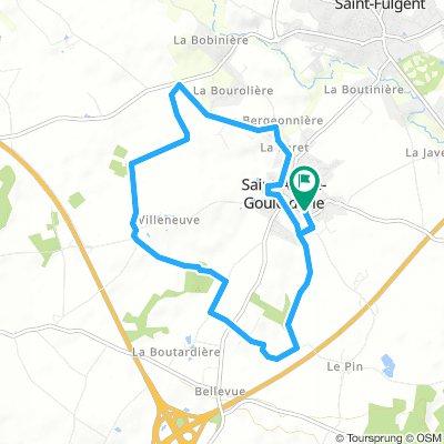 Balade en vélo avec Enzo ce Dimanche Route In Saint-André-Goule-D'oie