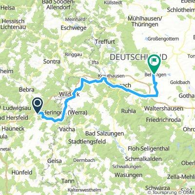 SoTo 2018/25: Friedewald - Behringen/Hainich