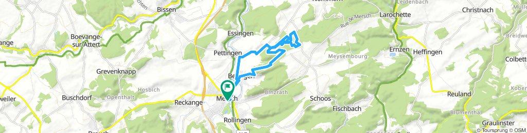 ride through Mersch