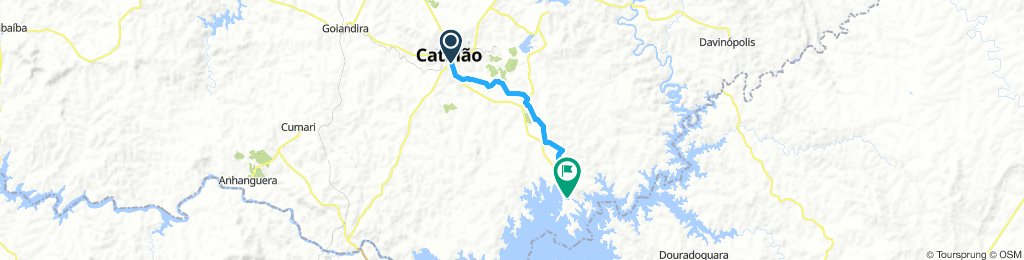 Catalão a Três Ranchos