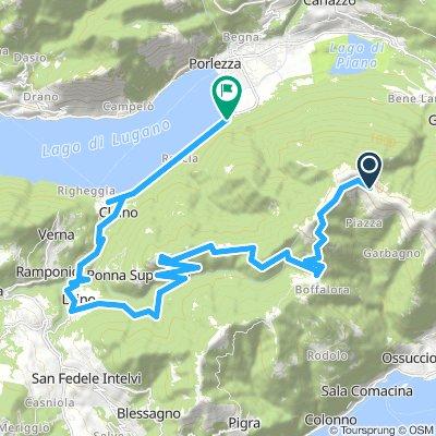 Powrót Lugano Galbiga 1691