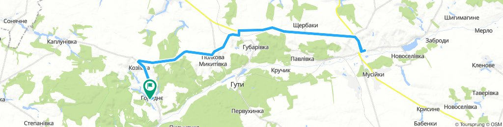 Horodnie - Bohodukhiv - Horodnie (24.06.)