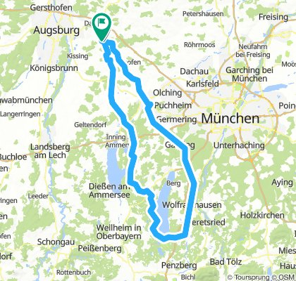 Eurasburg-Eurasburg Hin-und zurück