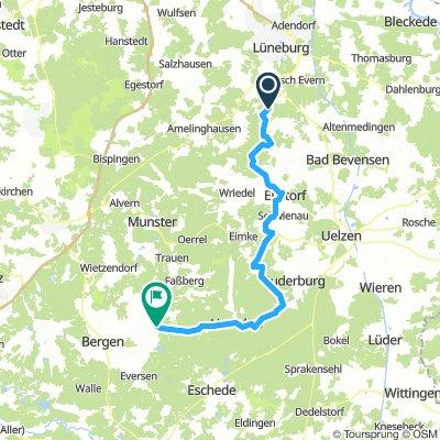 Etappe 1 - Heiderundfahrt -