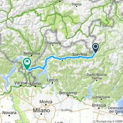Gavia-Tour: 4. Etappe