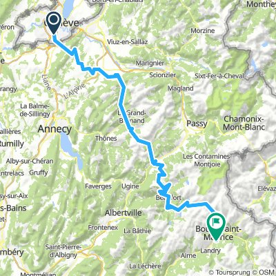 [1] Plan les Ouates - Bourg St Maurice 3.1