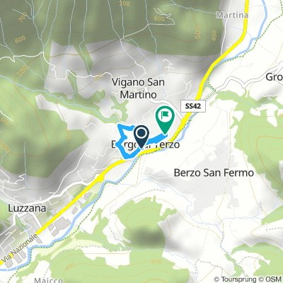 Relaxed Afternoon Course In Borgo Di Terzo GRADINI🤯💪