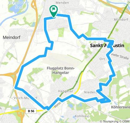 St. Augustin - halbe Distanz
