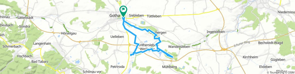 Moderate Montag Course In Gotha