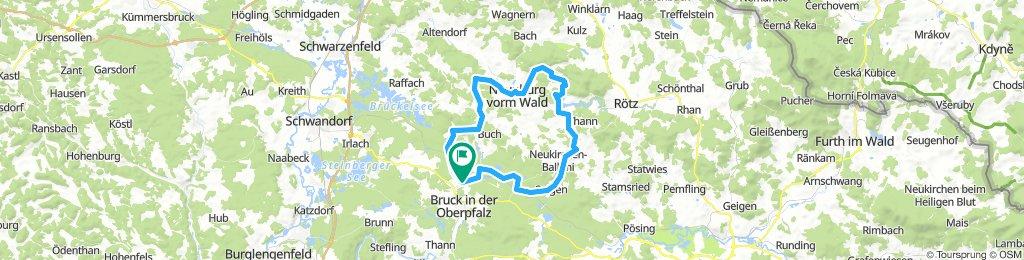 Bodenwöhr-Neunburg v.W.-Eixendorfer Stausee-Bodenwöhr