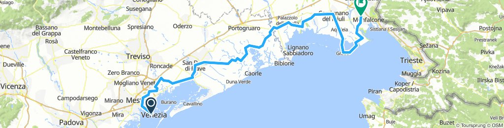Benetke-letališče Ronchi