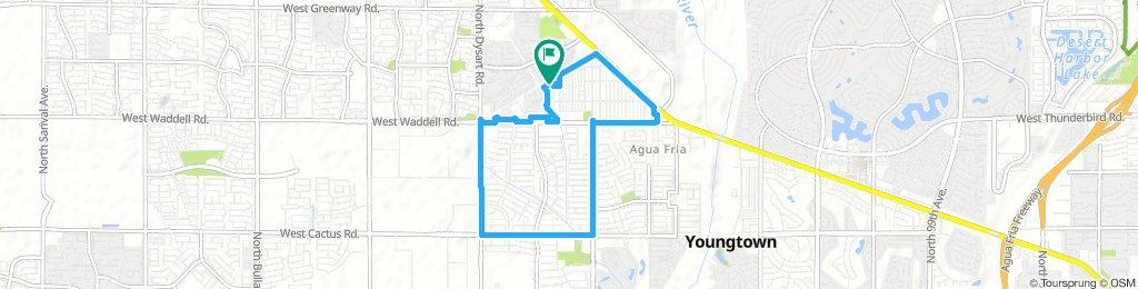 Home Bike route