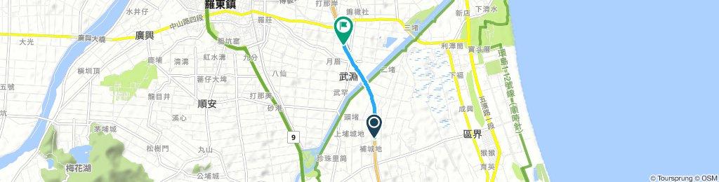 Cracking 星期二 Route In 冬山鄉