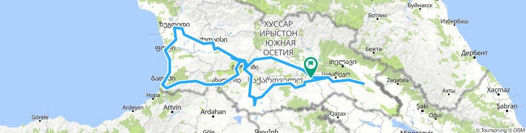 Georgia Cycle Tour