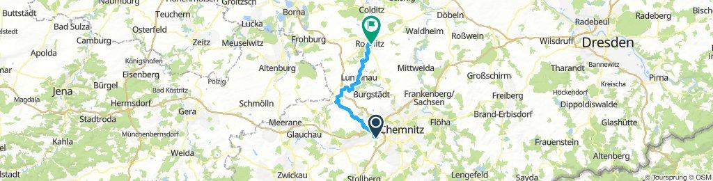 Chemnitz Beucha Muldenralradweg 01