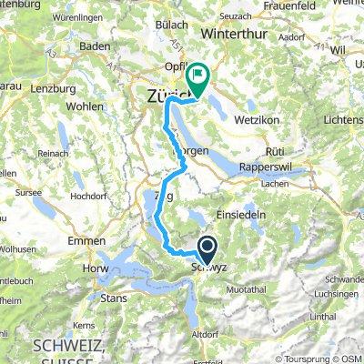 Schwyz-Zürich