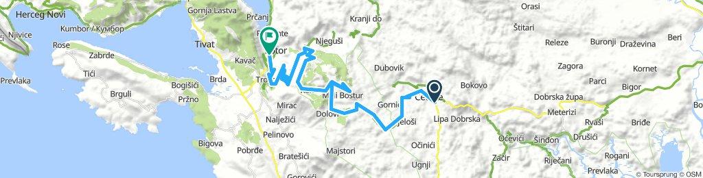 ALB 09: Cetinje - Jezerski - Kotor