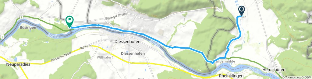 Relaxed Dienstag Course In Ramsen