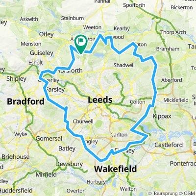 A loop around Leeds