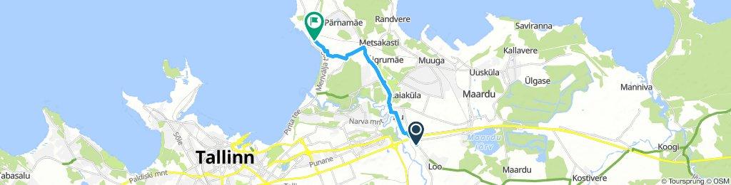 Long Evening Route In Jõelähtme