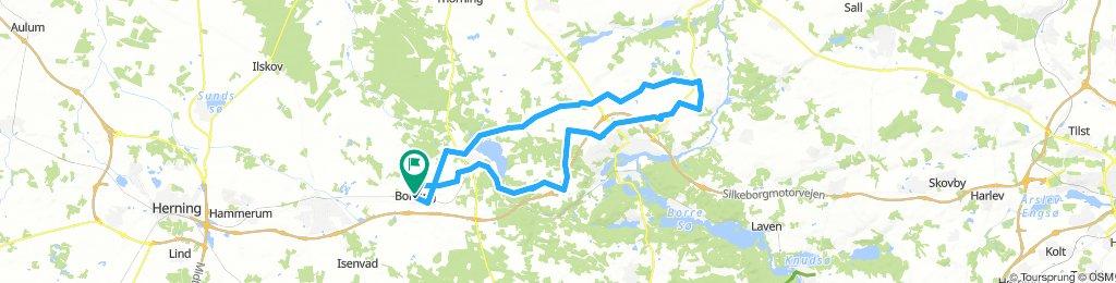 Bording Grauballe 63 km