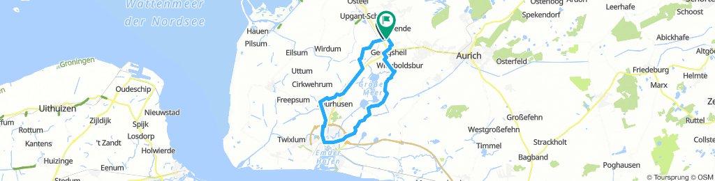 Nach dem Ratsdelft in Emden