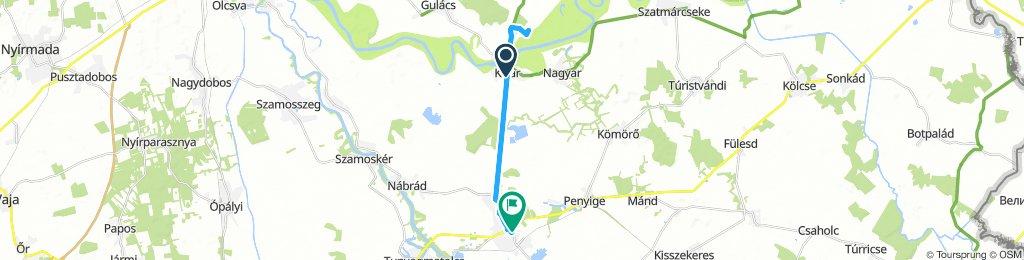 0. napi 5 km -es.  😁