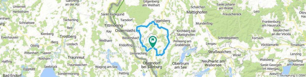 47 km Lieblingsroute über 6 Seen