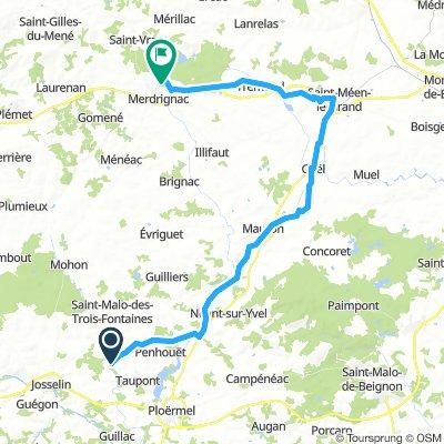 Val de Ninian - Merdrignac (V3-V6)
