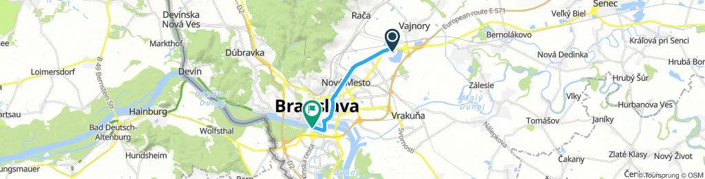 Camping à Bratislava