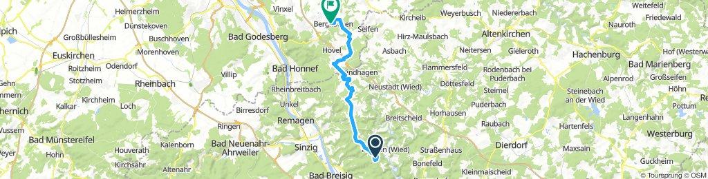 Malbergtour Rückfahrt