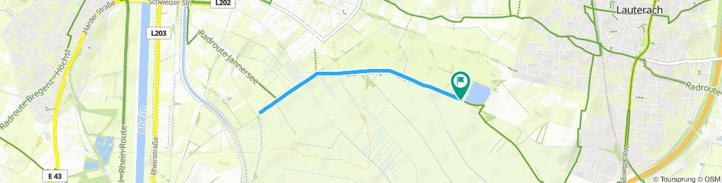 Jannersee Triathlon - Laufstrecke Hobby/Jugend