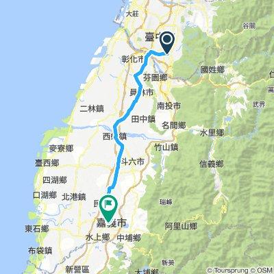 DAY2 - 台中大里 to 嘉義市