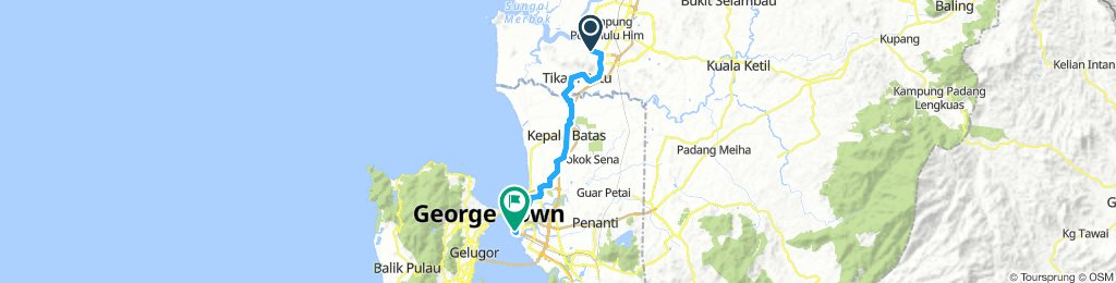 Route to PENANG