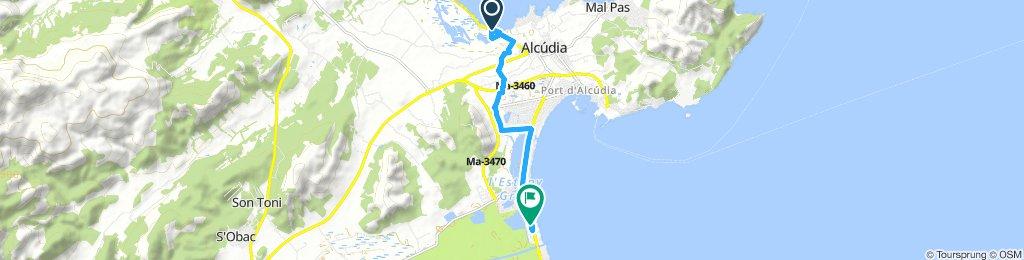 Moderate Morning Route In Alcúdia