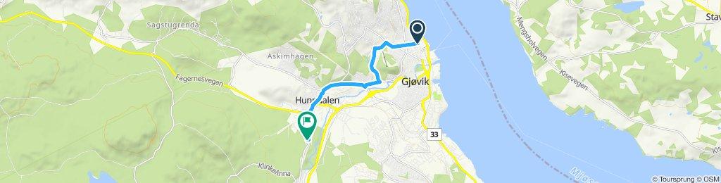 Easy Morning Course In Gjøvik