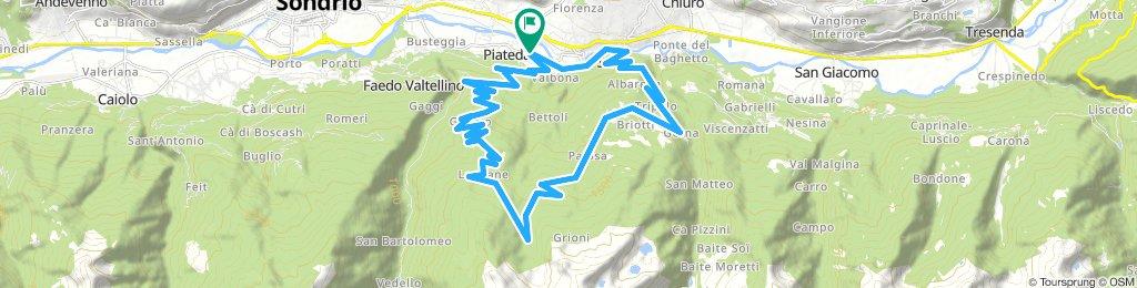 Piateda - Dosso del Sole - Le Piane - Armisola - Sazzo (Sondrio)