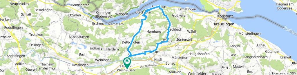 Moderate Afternoon Ride In Felben-Wellhausen