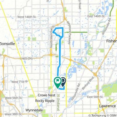 PunchBurger Carmel Route