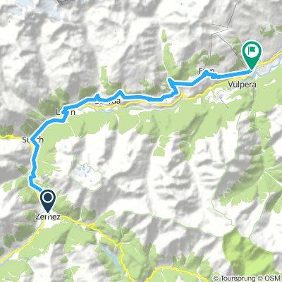 03. Tag, 09.07. Zernez – Scuol ca. 35 km