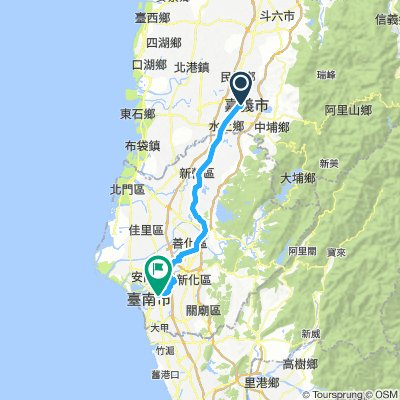DAY3 - 嘉義 to 台南 (經永康)