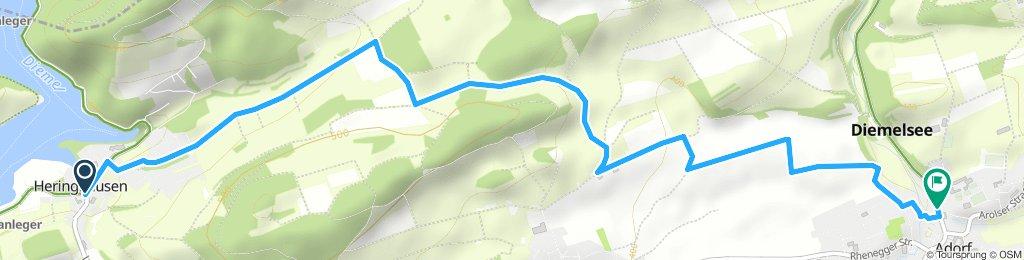 Heringhausen ( Diemelsee ) nach Adorf ( Diemelsee )