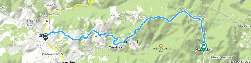 VIA ROMEA dei GUIDI - stage 9