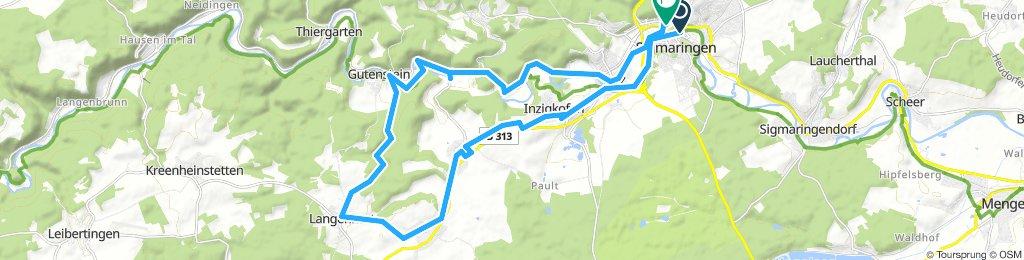 Tour1 um Sigmaringen