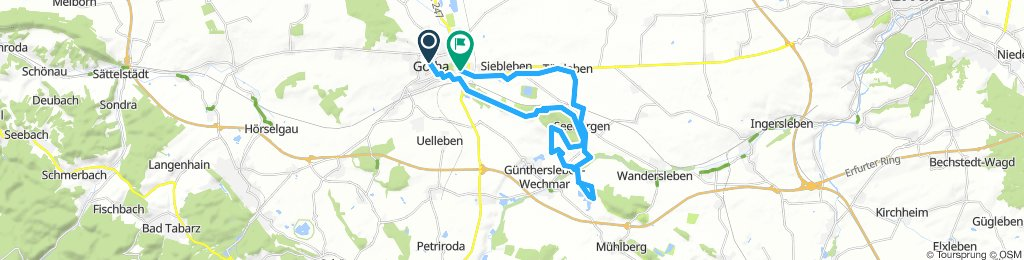 Moderate Donnerstag Track In Gotha