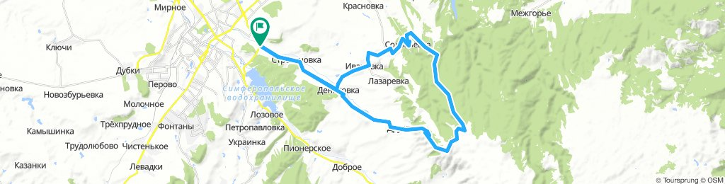 КОЛЬ - БАИР - СОЛОВЬЕВКА