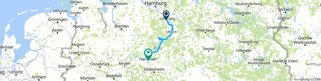 Tour mit Stephan durch die Lüneburger Heide